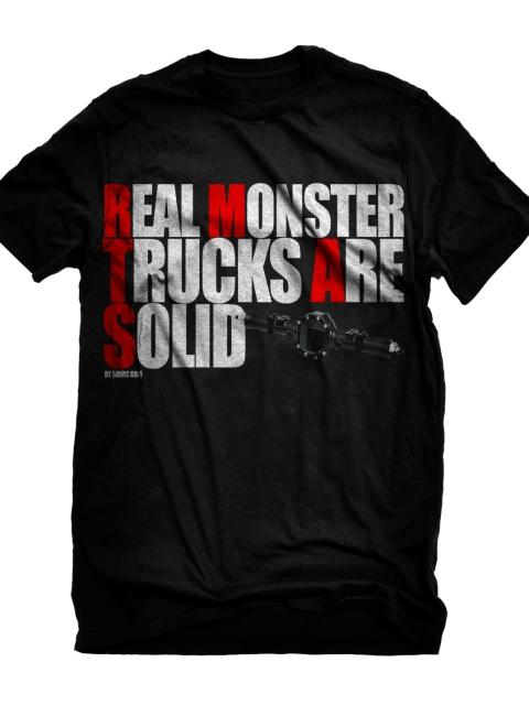 Real Monster shirt black Actual